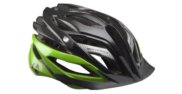 Bontrager Specter XR Helmet Color: Black/Lime Green