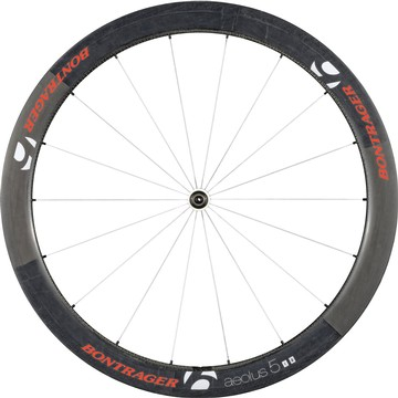 Bontrager Aeolus 5 D3 Front Wheel (Clincher) Color: Red