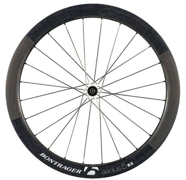 Bontrager Aeolus 5 D3 Front Wheel White Race Ltd. (Tubular)