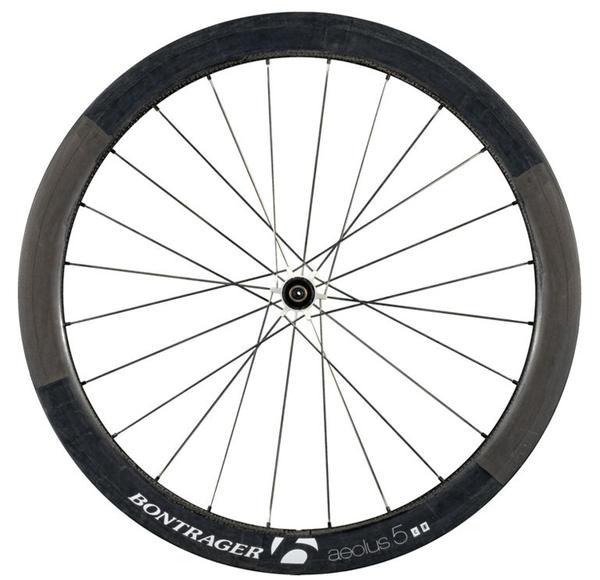 Bontrager Aeolus 5 D3 Front Wheel White Race Ltd. (Tubular)