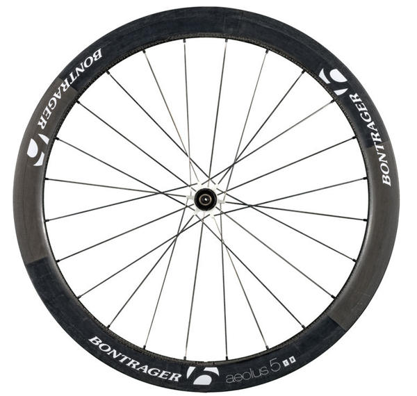 Bontrager Aeolus 5 D3 Rear Wheel, White (Clincher)