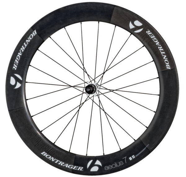 Bontrager Aeolus 7 D3 Rear Wheel, White (Tubular)