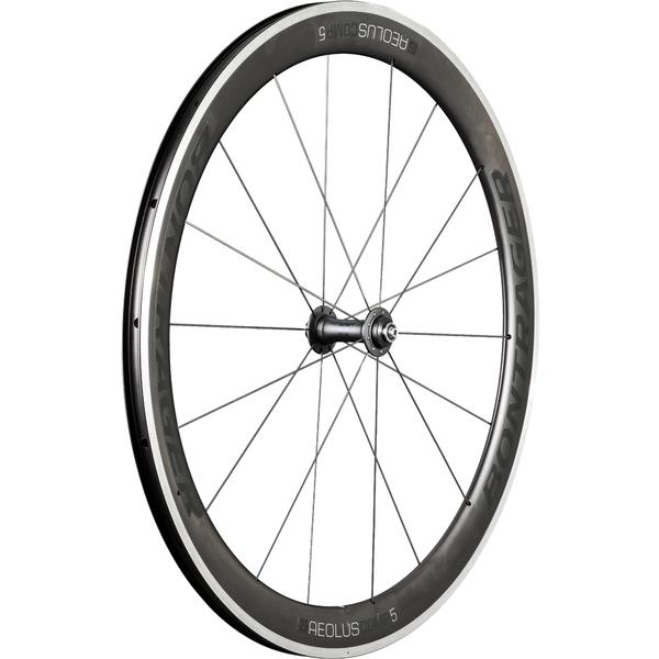 Bontrager Aeolus Comp 5 TLR Axle | Color | Model | Size: QR | Black/Anthracite | Front | 700c
