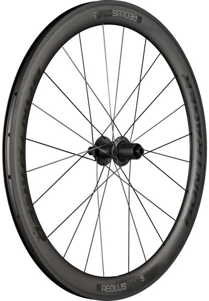 Bontrager Aeolus Comp 5 TLR Disc Road Rear Wheel Axle | Cassette Compatibility | Color | Size: 142 x 12mm | Shimano/SRAM | Black/Anthracite | 700c