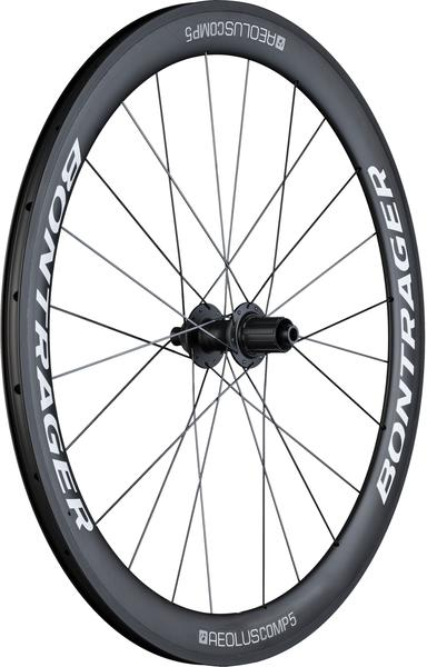 Bontrager Aeolus Comp 5 TLR Disc Road Rear Wheel Axle | Cassette Compatibility | Color | Size: 142 x 12mm | Shimano/SRAM | White/Anthracite | 700c