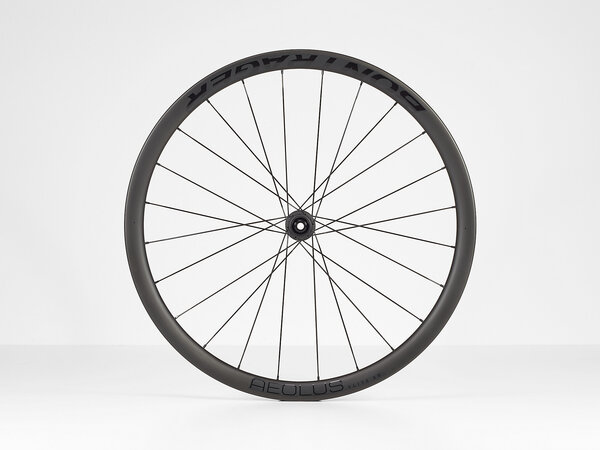 Bontrager Aeolus Elite 35 TLR Disc Road Front Color: Black