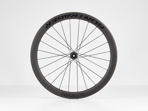 Bontrager Aeolus Elite 50 TLR Disc Road Front Color: Black