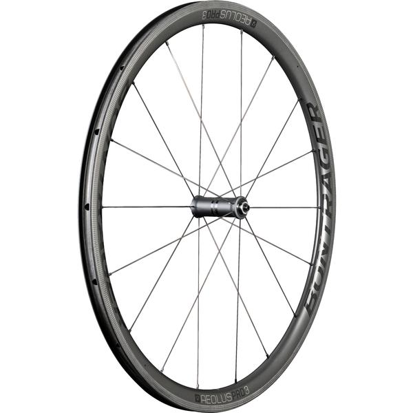 Bontrager Aeolus Pro 3 TLR Color | Model | Size: Black/Anthracite | Front | 700c