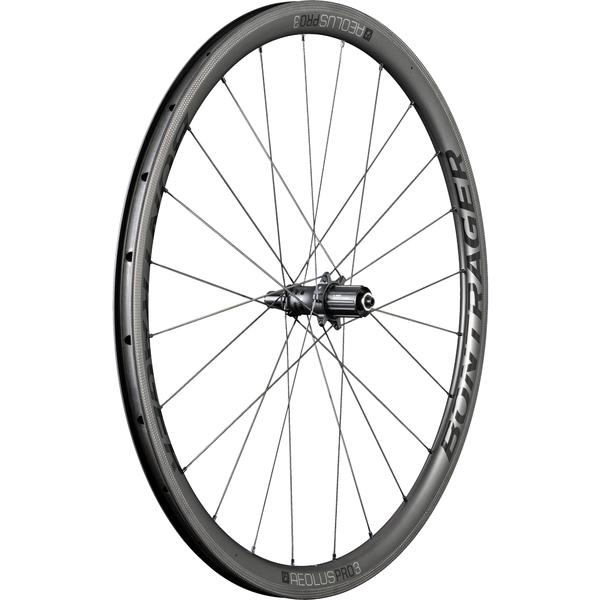 Bontrager Aeolus Pro 3 TLR Color | Model | Size: Black/Anthracite | Rear | 700c