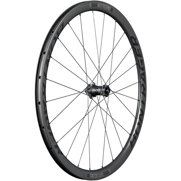 Bontrager Aeolus Pro 3 TLR Disc Color | Model | Size: Black/Anthracite | Front | 700c