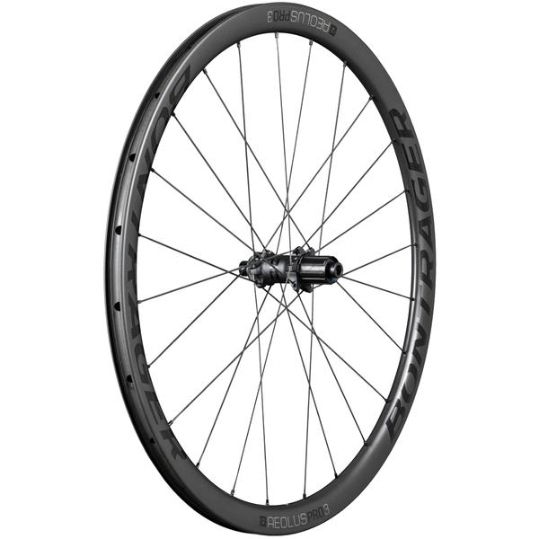 Bontrager Aeolus Pro 3 TLR Disc Color | Model | Size: Black/Anthracite | Rear | 700c