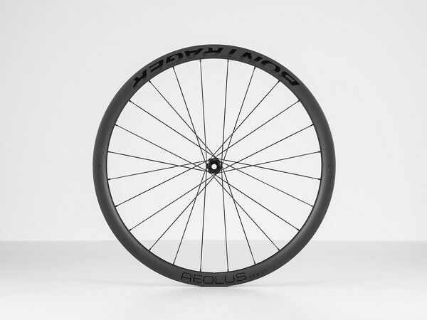 Bontrager Aeolus Pro 37 TLR Disc Road Front Color: Black