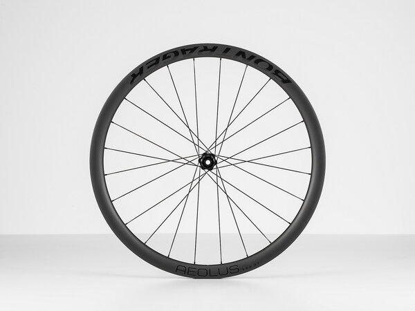 Bontrager Aeolus Pro 37 TLR Disc Road Rear Color: Black