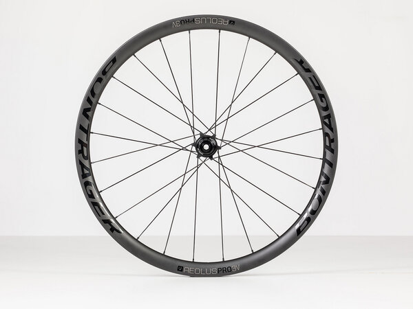 Bontrager Aeolus Pro 3V TLR Boost Disc Rear Road Wheel Color: Black/Anthracite
