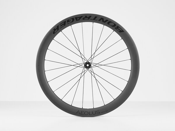 Bontrager Aeolus Pro 51 TLR Disc Road Front Wheel Color: Black
