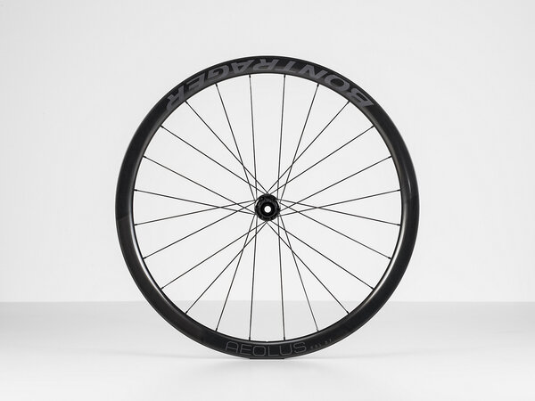 Bontrager Aeolus RSL 37 TLR Disc Road Front Color: Black