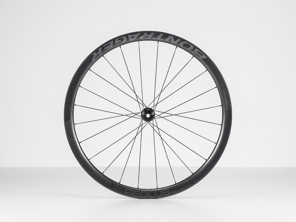 Bontrager Aeolus RSL 37 TLR Disc Road Rear Color: Black