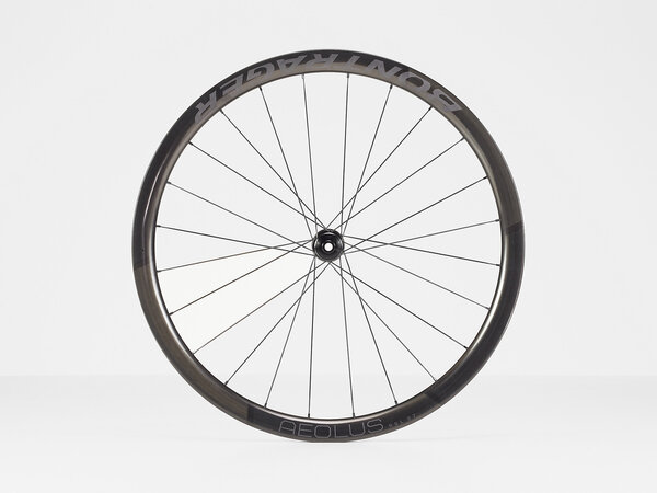 Bontrager Aeolus RSL 37 Tubular Disc Road Front Color: Black