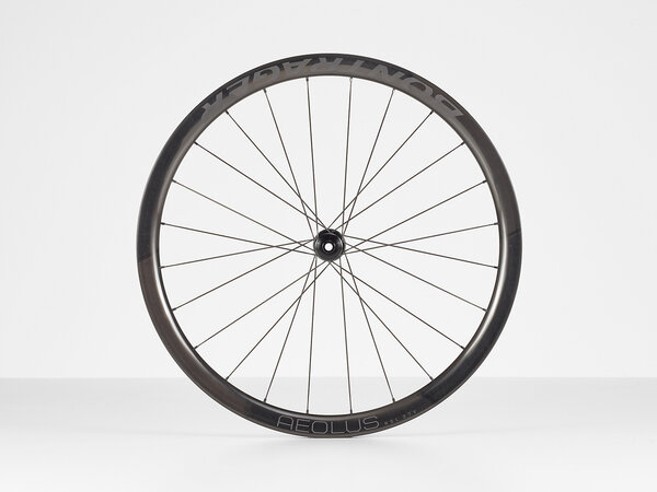 Bontrager Aeolus RSL 37V TLR Disc Road Front Color: Black