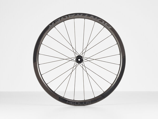 Bontrager Aeolus RSL 37V TLR Disc Road Rear Color: Black