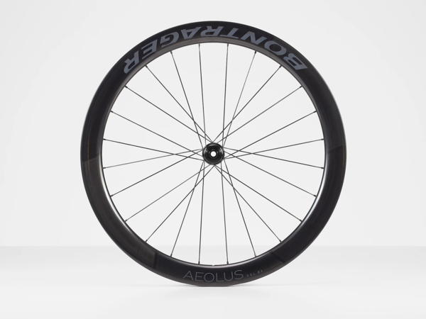 Bontrager Aeolus RSL 51 TLR Disc Road Front Color: Black