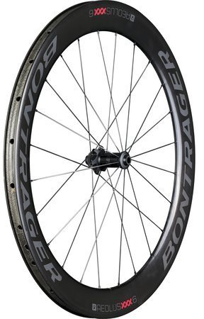 Bontrager Aeolus XXX 6 TLR Disc Front Color: Black/Red