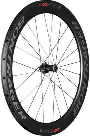 Bontrager Aeolus XXX 6 Tubular Disc Front Color: Black/Red
