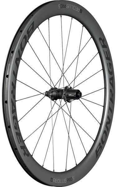 Bontrager Aeolus Pro 5 TLR Disc Rear Color: Black/Anthracite