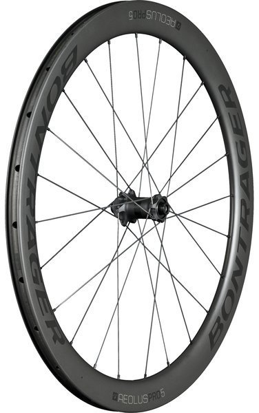 Bontrager Aeolus Pro 5 TLR Disc Front Color: Black/Anthracite