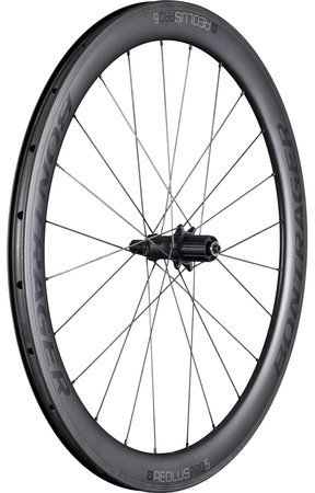 Bontrager Aeolus Pro 5 TLR Rear Color: Black/Anthracite