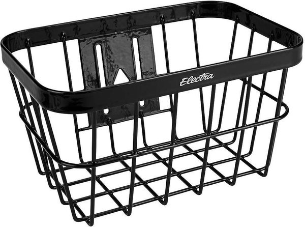 Electra Small Wired Basket Color: Black