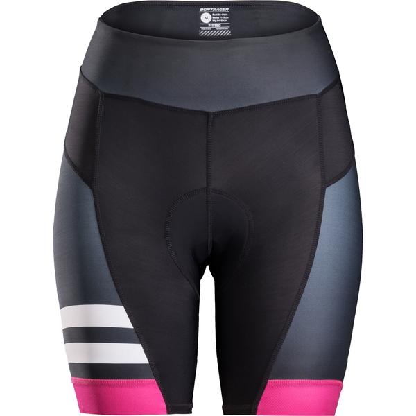 Bontrager Anara LTD Women's Cycling Short Color: Black/Vice Pink