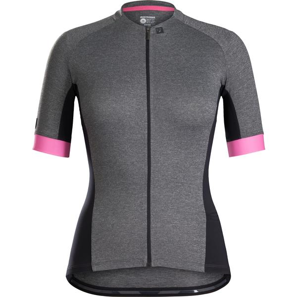 Bontrager Anara Women's Cycling Jersey Color: Black/Vice Pink