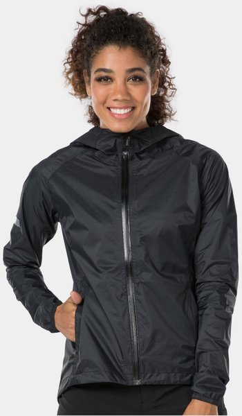 Bontrager Avert Women's Stormshell Mountain Bike Jacket Color: Black