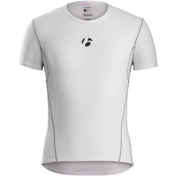 Bontrager B1 Short Sleeve Baselayer Color: White