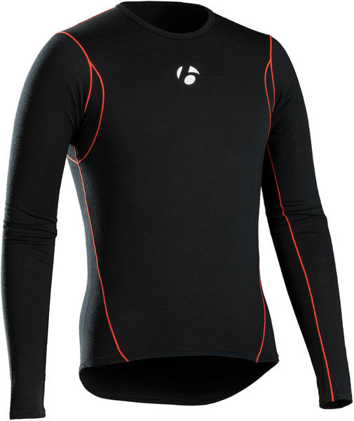 Bontrager B3 Long Sleeve Baselayer Color: Black