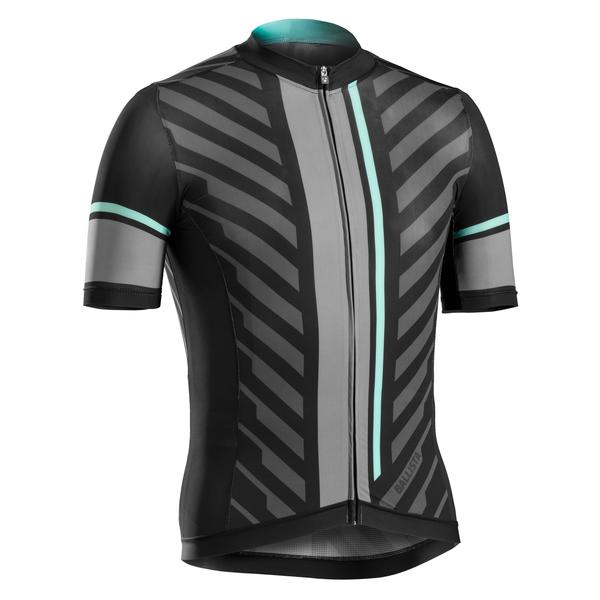 Bontrager Ballista Short Sleeve Jersey Color: Black / Miami Green