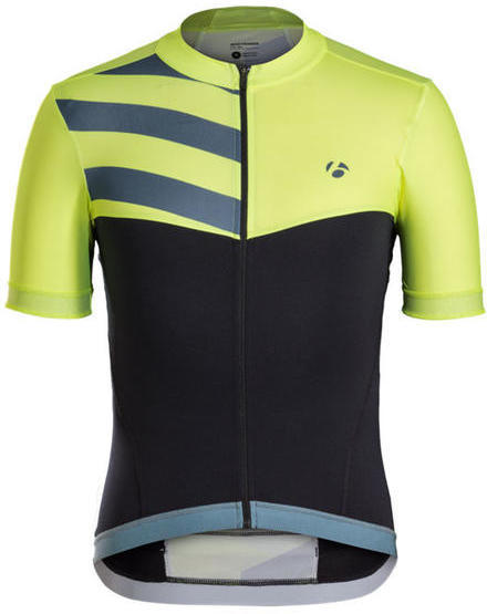 Bontrager Velocis Halo Short Sleeve Jersey Color: Visibility Yellow