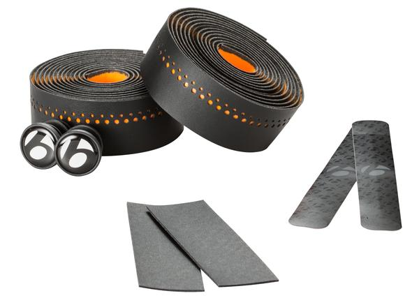 Bontrager Microfiber Foam Bar Tape Color: Fastback Orange