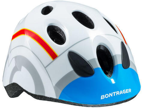 Bontrager Big Dipper Kids Bike Helmet Color: White/Blue