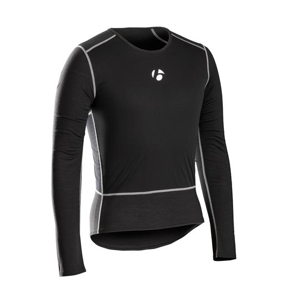 Bontrager B2 Windshell Long Sleeve Baselayer Color: Black