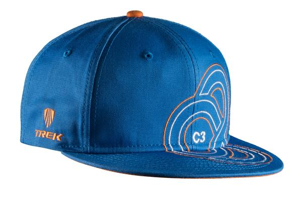 Bontrager Bontrager C3 Project Cap Color: Royal Blue / Orange
