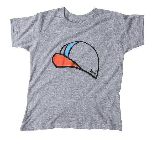 Bontrager Cycling Cap Kid's T-Shirt Color: Athletic Grey
