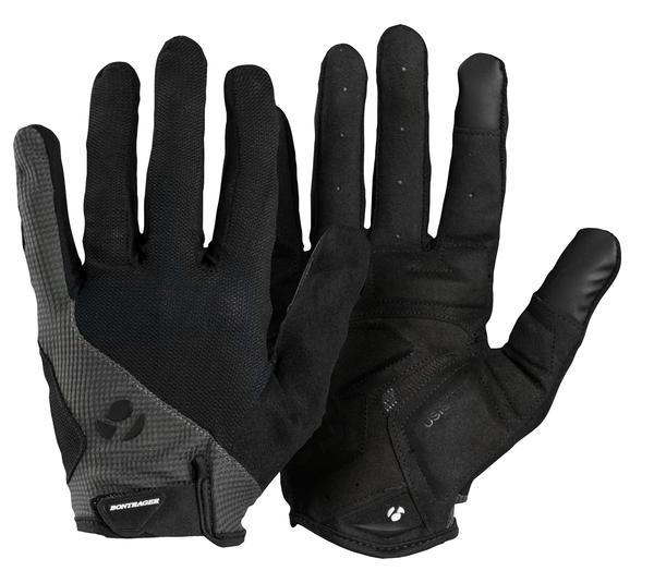 Bontrager Race Gel Full Finger Gloves Color: Black