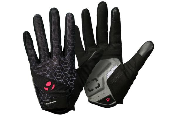 Bontrager Race Gel Full Finger Women's Gloves Color: Black
