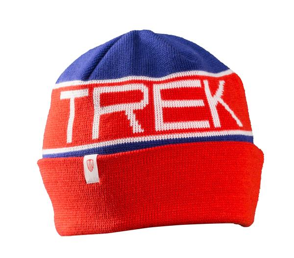 Bontrager Trek Vintage Beanie Color: Blue/Red