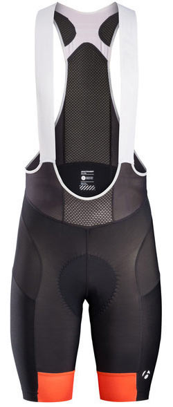 Bontrager Bontrager Velocis Bib Shorts Color: Tomato Orange