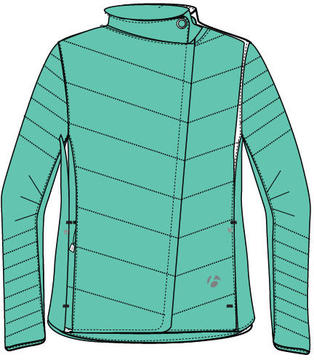 Bontrager Earhart Jacket - Women's Color: Mint