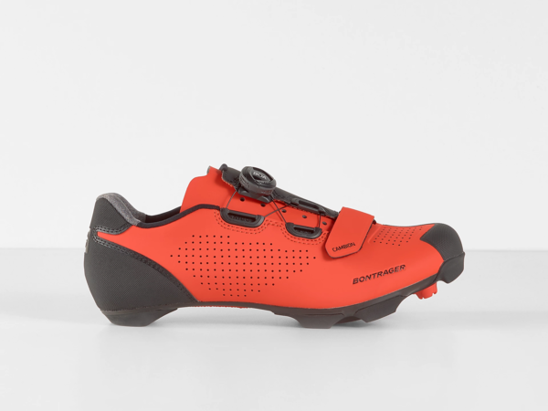 Bontrager Cambion Mountain Bike Shoe Color: Viper Red