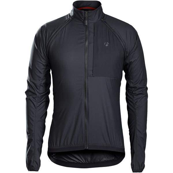 Bontrager Circuit Convertible Windshell Jacket Color: Black